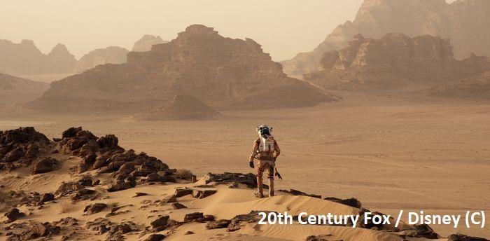 """""""Marsjanin"""", Wadi Rum jako Mars"""