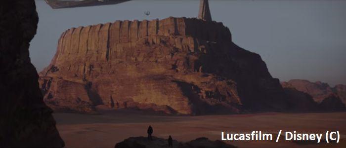 """""""Gwiezdne Wojny: Łotr 1"""", Wadi Rum jako Jedha"""