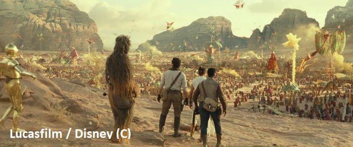 """""""Gwiezdne Wojny: Skywalker Odrodzenie"""", Wadi Rum jako Pasaana"""