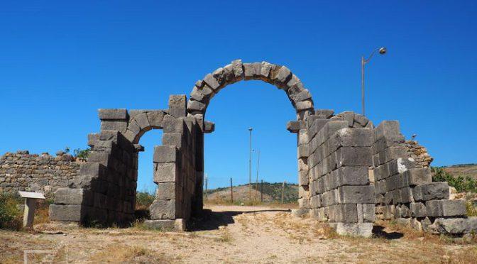 Volubilis, dawna rzymska stolica prowincji w Maroko