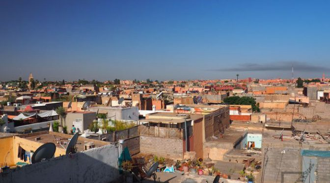 Marrakesz, Czerwone Miasto w Maroko