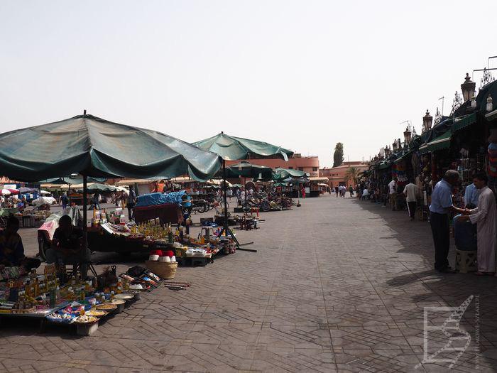 Medyna / plac Jemaa el Fna (Marrakesz)
