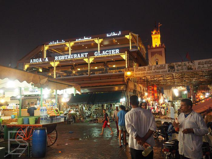 Plac Jemaa el Fna w Marrakeszu