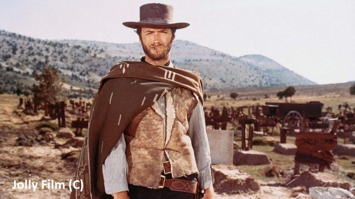 Clint Eastwood na pustyni Tabernas