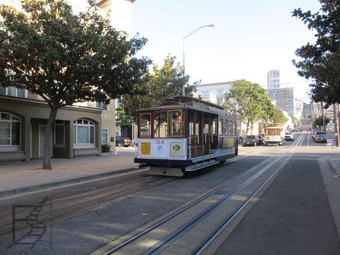 Słynny tramwaj w San Francisco