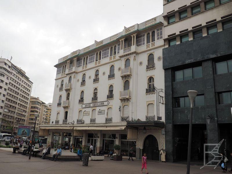 Hotel Excelsior, czyli zabytek w stylu Art Noveau (Casablanca)