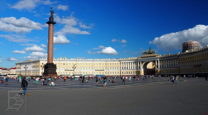 James Bond i Sankt Petersburg