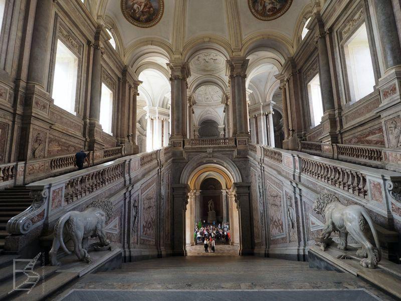 Słynne schody (Caserta)