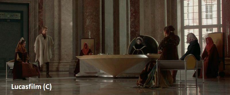 """""""Gwiezdne Wojny: Cześć II: Atak klonów"""" i Caserta jako pałac królewski na Naboo."""