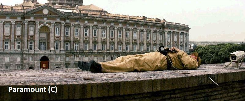 """Mission: Impossible III"" i Caserta udająca Watykan. Mur dobudowano."