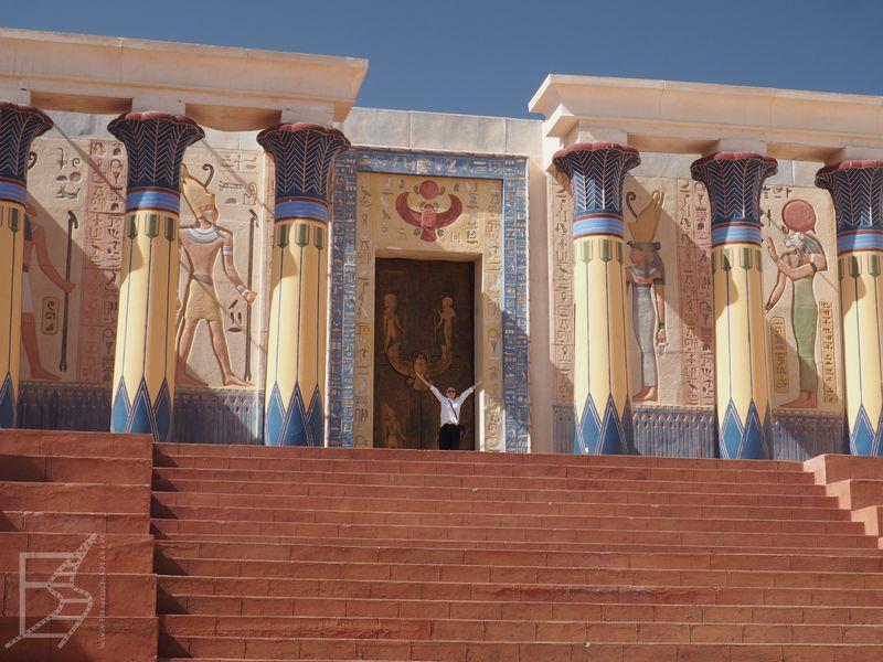 """Egipt na potrzeby serialu """"Tutenchamon"""" (Studio Atlas)"""