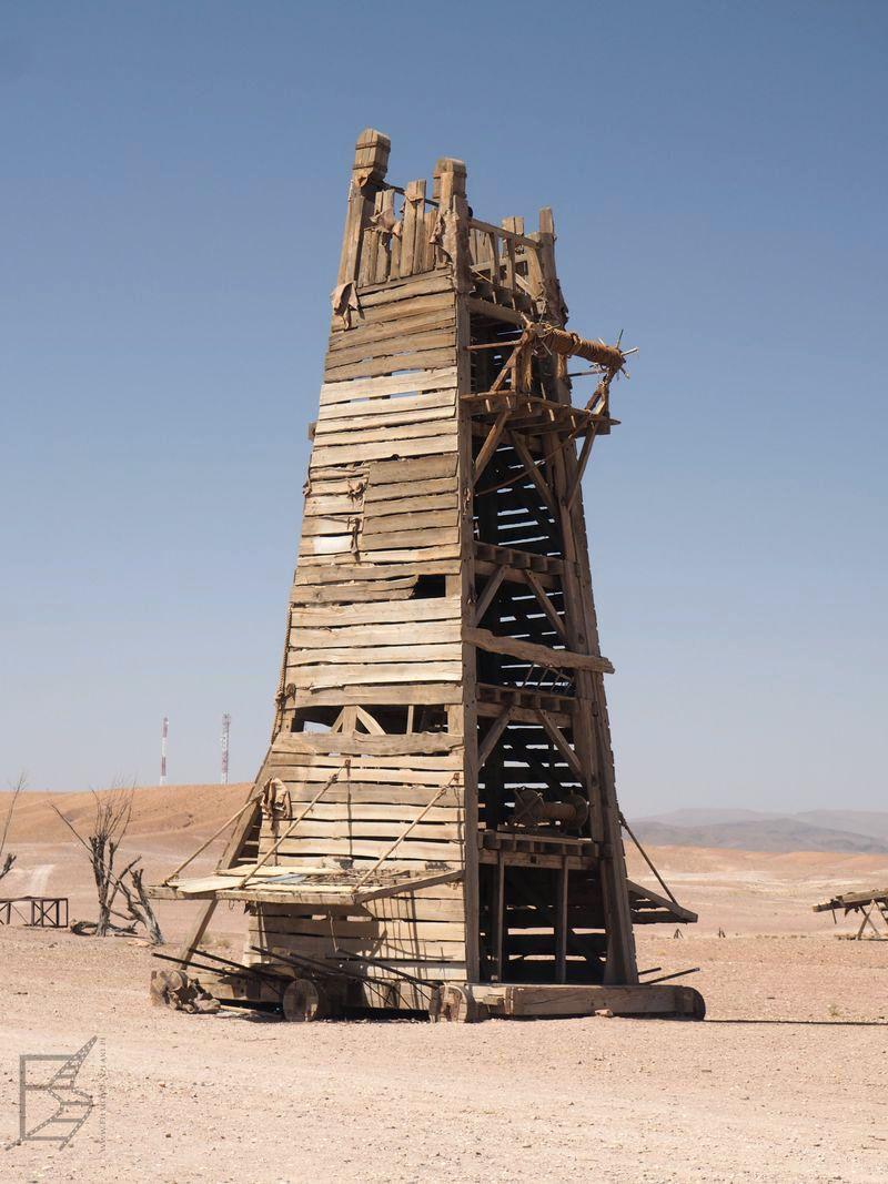 Machiny oblężnicze z filmu Ridleya Scotta