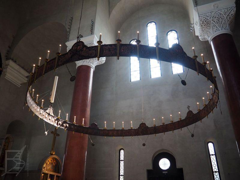Wnętrze cerkwi św. Marka (Belgrad)