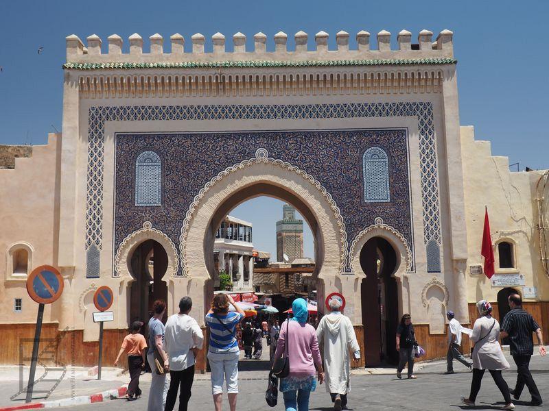 Brama Bab Bu Dżelud (Fez)