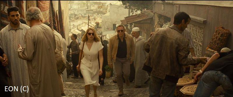 """Tanger i James Bond (""""Spectre"""")"""