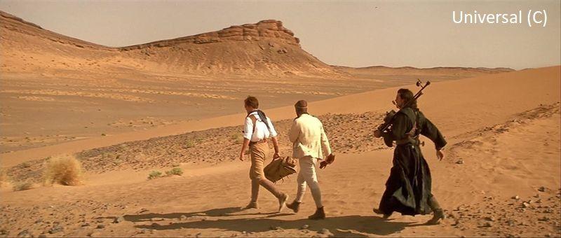 "Krater Erfoud w filmie ""Mumia"" (pustynia Erg Chebbi)"