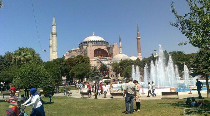 Hagia Sofia (Stambuł, Turcja)
