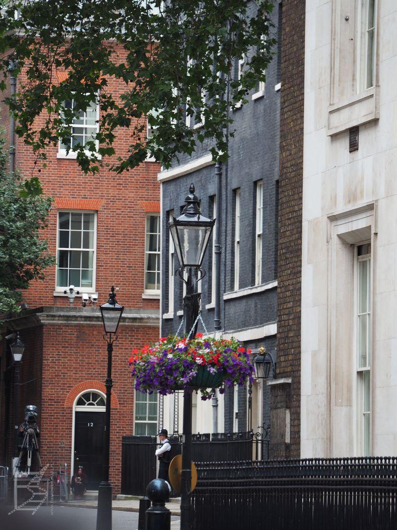 Downing Street 10 - siedziba premiera Wielkiej Brytanii