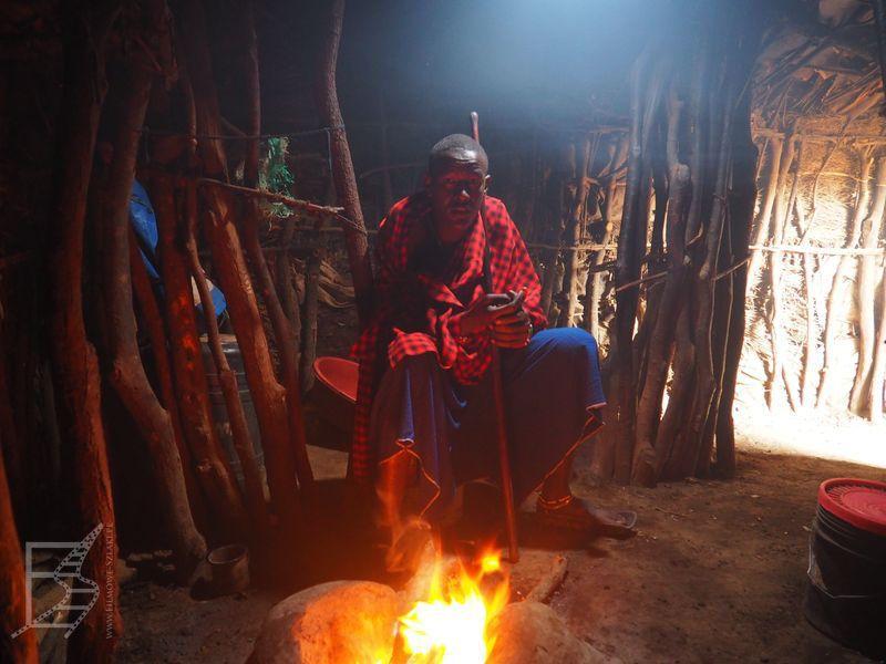Masaj w lepiance (Ngorongoro)
