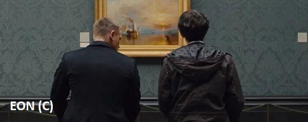 """""""Skyfall"""", National Gallery, Londyn"""