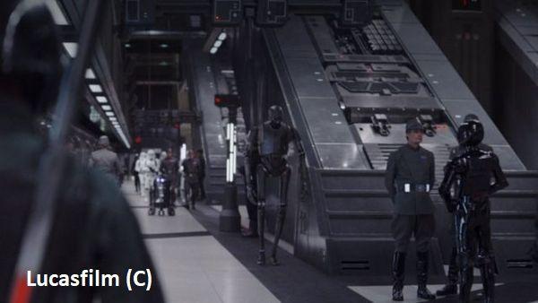 """""""Gwiezdne Wojny Historie – Łotr 1"""" i stacja Canary Wharf, Londyn"""