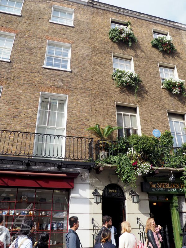 Muzeum Sherlocka Holmesa, Baker Street 221B (239), Londyn