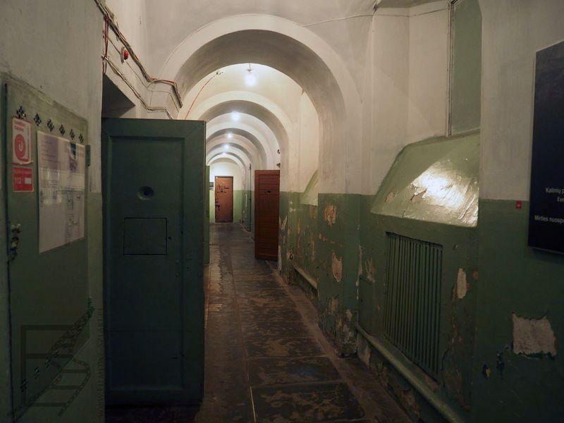 Muzeum ludobójstwa - lub KGB (dawne więzienie) (Wilno, Litwa)