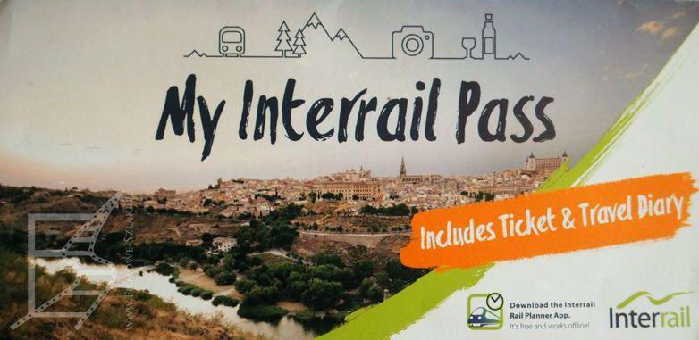 Karta Interrail