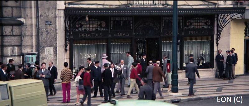 """Jubiler i 007 (""""W tajnej służbie Jej Królewskiej Mości"""" i Lizbona)"""