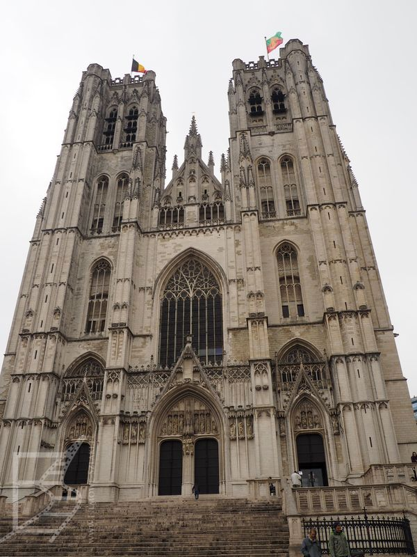 Katedra w Brukseli