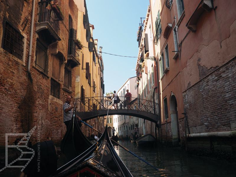 Gondola i kanały (Wenecja)
