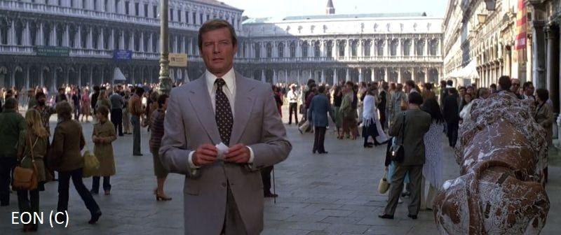 """Moonraker"", czyli James Bond (Roger Moore) i Wenecja"