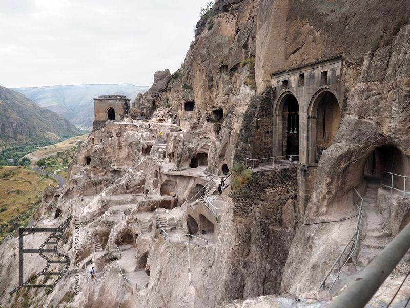 Wardzia, czyli prawdziwe skalne miasto (Gruzja)