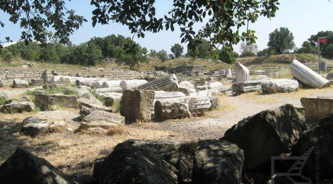Troja, mit, ruiny, legendarne miasto i słynne odkrycie