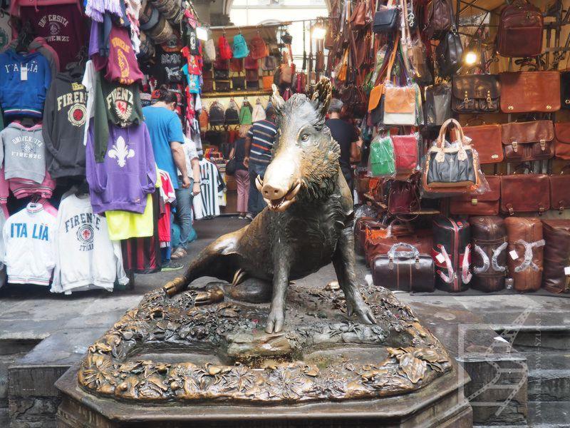 Porcellino, czyli dzik we Florencji