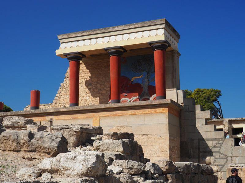 Pozostałości pałacu króla Minosa
