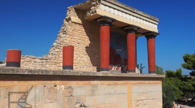 Pałac króla Minosa w Knossos i labirynt Minotaura