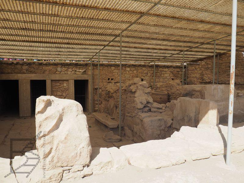 Knossos, dawny pałac króla Minosa