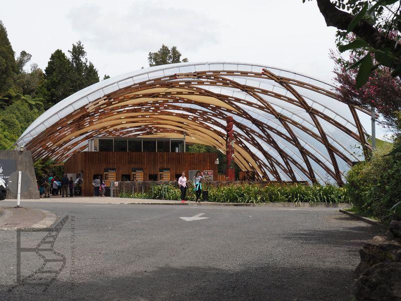Wejście do jaskini Waitomo