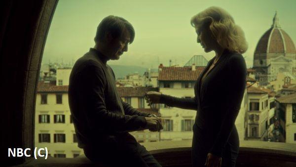 "Serialowy ""Hannibal"" i Florencja, w tle kopuła katedry"