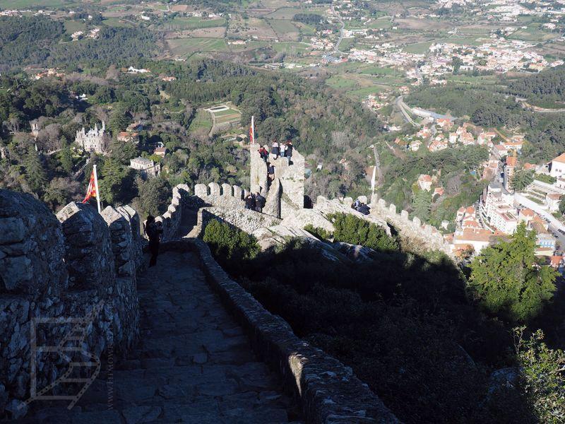 Mur zamku Maurów (Sintra)