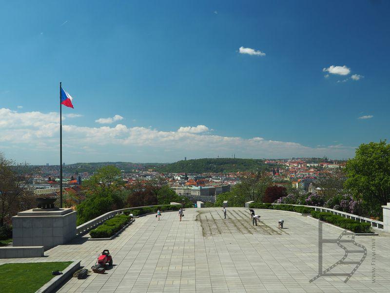 Widok na Pragę (Czechy)