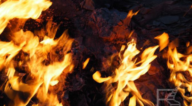 Janar Dah (Yanar Dag), wieczne ognie Azerbejdżanu