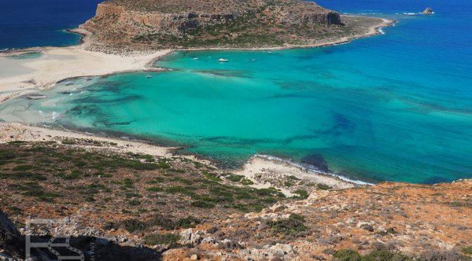 Laguna i plaża Balos, malownicze miejsce Krety