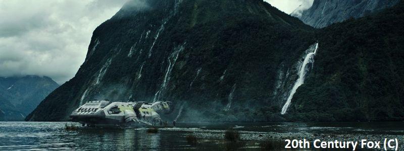 """""""Obcy: Przymierze"""" i Milford Sound (Fiordland)"""