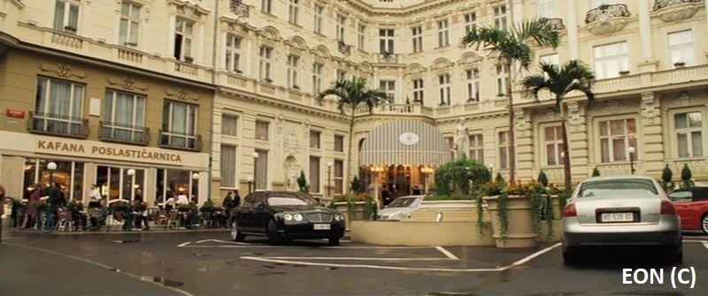 """Hotel Splendide w """"Casino Royale"""", faktycznie Karlowe Wary i Grandhotel Pupp"""