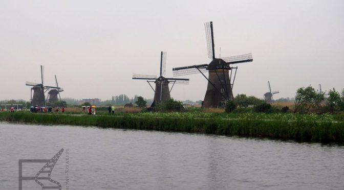 Wiatraki w Kinderdijk