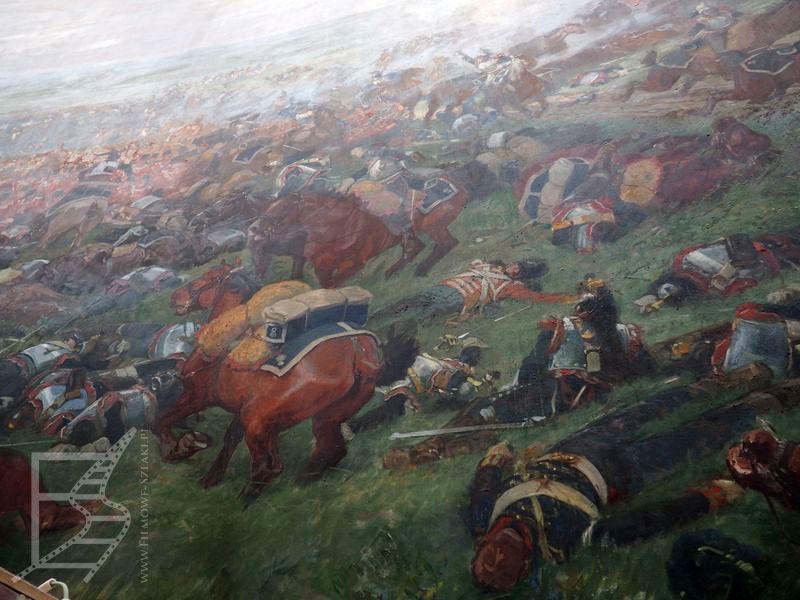 Panorama bitwy pod Waterloo