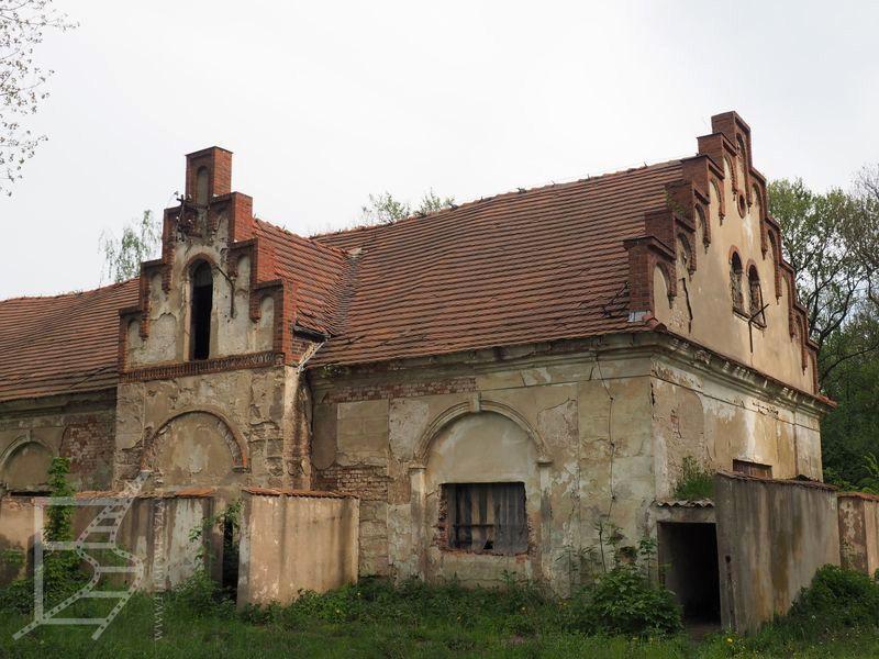 Okolice pałacu (Krobielowice)