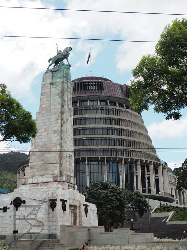 Parlament czyli Beehive (Wellington)